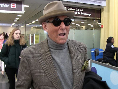 Roger Stone Talks Prison Fashion & Loyalty Ahead of Arraignment