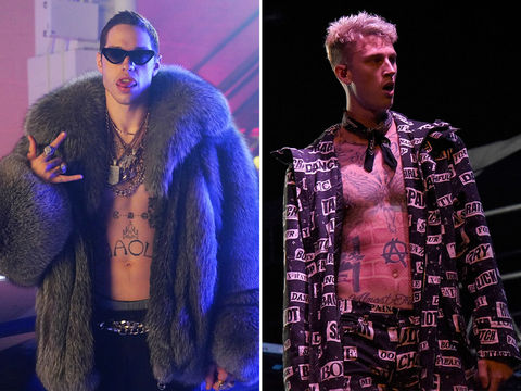 Pete Davidson (25) vs. Machine Gun Kelly (28)  -- Best Buds Edition