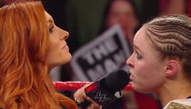 Ronda Rousey Threatens Becky Lynch, 'I Could Kill You With My Bare Hands'