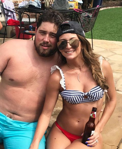Mackenzie Andrews is married to Patriots center David Andrews