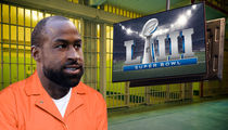 Ex-Patriots Star Brandon Browner Allowed to Watch Super Bowl in Jail