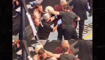 Conor McGregor Claims He Blasted Octagon Attacker During UFC 229 Melee
