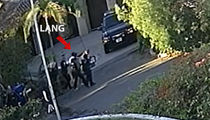 Adam Perry Lang's Arrest Video at Jimmy Kimmel's Home