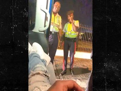 Meek Mill Gets Pulled Over in Jamaica So Cops Can Snag a Pic
