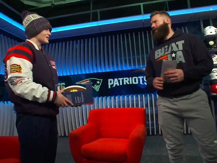 Julian Edelman Surprises Bullied Girl With Super Bowl Tix, 'That Was Crazy!'