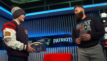 Julian Edelman Surprises Bullied Girl With Super Bowl Tix, 'That Was Crazy!'