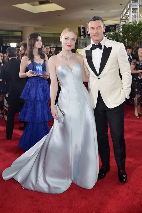 Dakota Fanning and Luke Evans