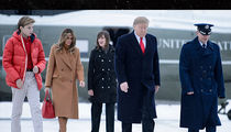Barron Trump Soars to New Heights as He Boards Air Force One