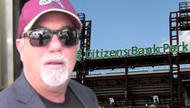 Billy Joel, Phillies Sued for Stage Handler's Injuries During Concert