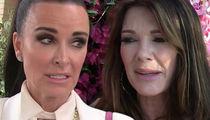 Kyle Richards Clarifies Lisa Vanderpump's Andy Cohen 'Drama' Comment