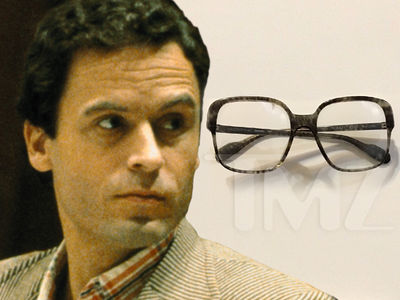 Ted Bundy's Infamous Glasses Sell for $50k, En Route to Zak Bagans