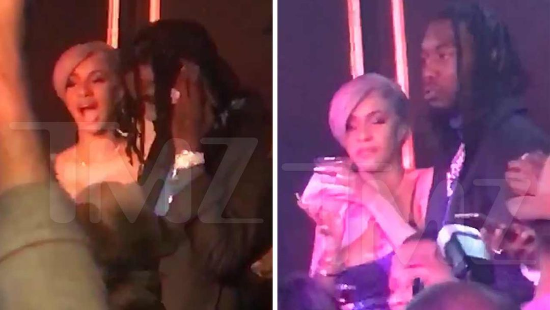 Cardi B Offset Hit Up Atlanta Club During Super Bowl Weekend