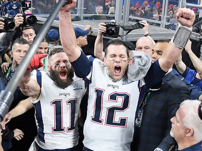 Tom Brady & The Patriots Celebrate Sixth Super Bowl Win
