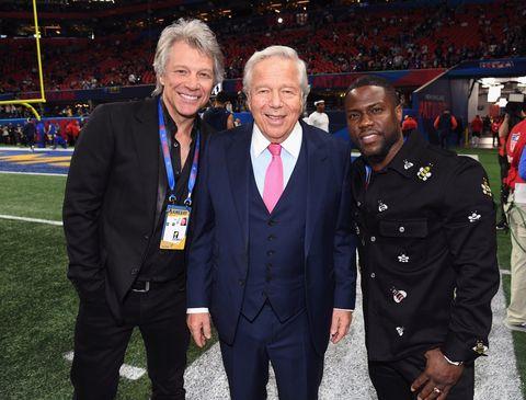 Jon Bon Jovi, Robert Kraft, Kevin Hart