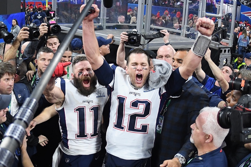 77ec5b328ac New England Patriots Celebrate Super Bowl LIII Win