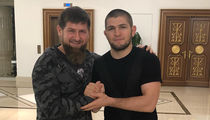 Khabib Nurmagomedov Hangs with Chechen Leader After Alleged 'Gay Purge'