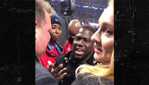 Kevin Hart Stopped By Super Bowl Security, Rescued By Patriots Honcho