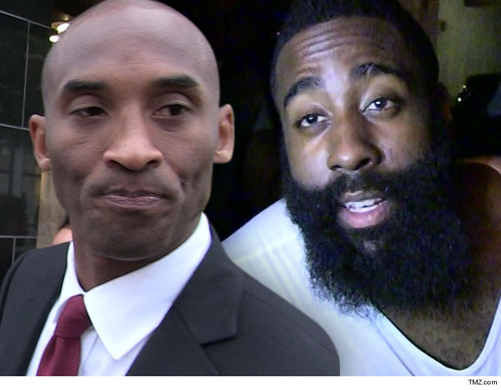bd358924e947 James Harden says he AGREES with Kobe Bryant ... the Rockets will almost  certainly NOT win a title with the guard being SO ball dominant.