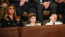 Joshua Trump Lulled to Sleep by President Trump's SOTU Address