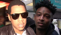 Jay-Z Calls 21 Savage Arrest a 'Travesty,' Roc Nation Hires Him Legal Help