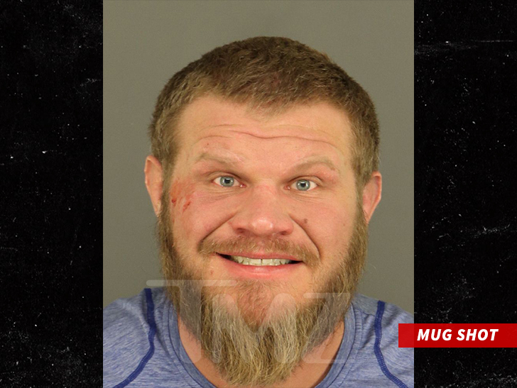 Busted MMA fighters and fights - Page 21
