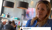 Roger Stone Hits Up Salon in Florida, Spotted By Marlee Matlin