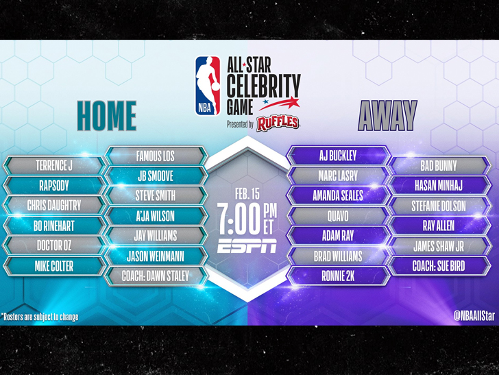 All star game celebrity 2019 honda