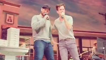 NKOTB's Joey McIntyre Sings Karaoke After His Broadway Show