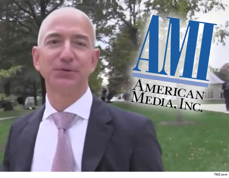 Amazons Jeff Bezos accuses National Enquirer owner of