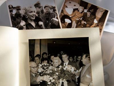 Marilyn Monroe & Joe DiMaggio's 1954 Honeymoon Album Up for Auction