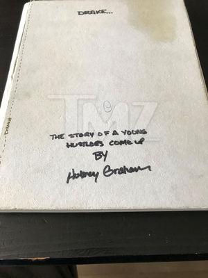 Drake's Lyrics Notebook -- For Sale!