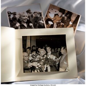 Marilyn Monroe & Joe DiMaggio's 1954 Honeymoon Photo Album