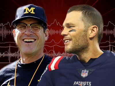 Jim Harbaugh Wants to Build a Tom Brady Statue at Michigan