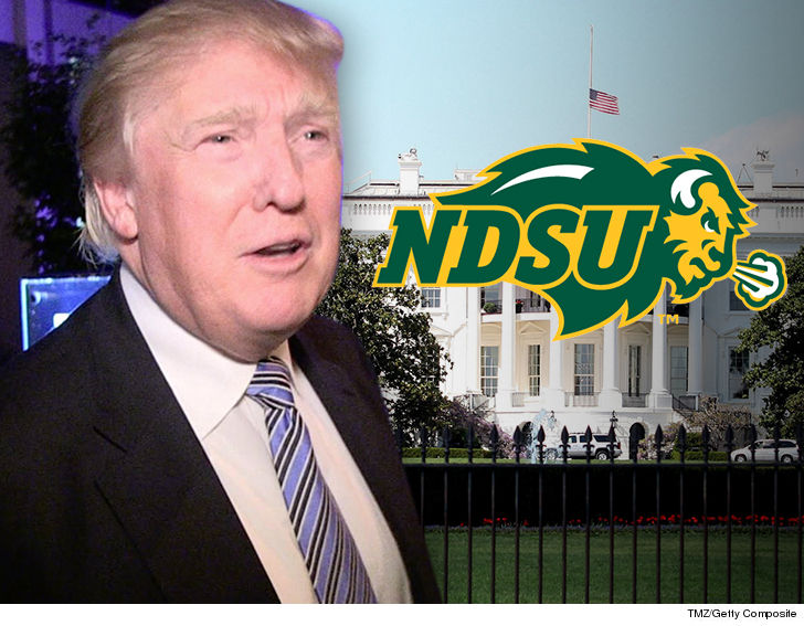 Heres Who Trump Invited To White House >> Donald Trump Invites Ndsu Football Team To White House Fcs Champs