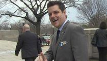 Congressman Matt Gaetz Says He'd Swipe Right for AOC