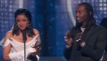 Cardi B Brings Offset on Grammys Stage, He Posts Vid of Kulture's Birth