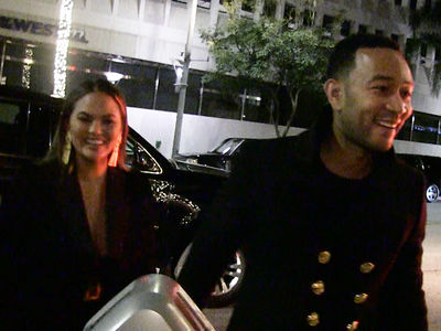 Chrissy Teigen and John Legend Won't Be Eating Pizza with AOC During Grammys