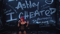 Halsey on 'SNL' with Writing on the Wall Suggesting G-Eazy Cheated