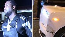 Meek Mill's Rolls-Royce Phantom Gets in Accident at L.A. Nightclub