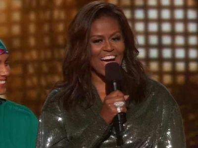 Michelle Obama Makes Surprise Appearance at 2019 Grammys