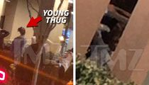 Young Thug Placed in Cuffs & Released Hours Before Grammys