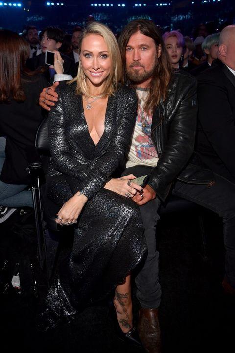 Tish Cyrus and Billy Ray Cyrus