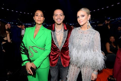 Tracee Ellis Ross, Evan Ross and Ashlee Simpson