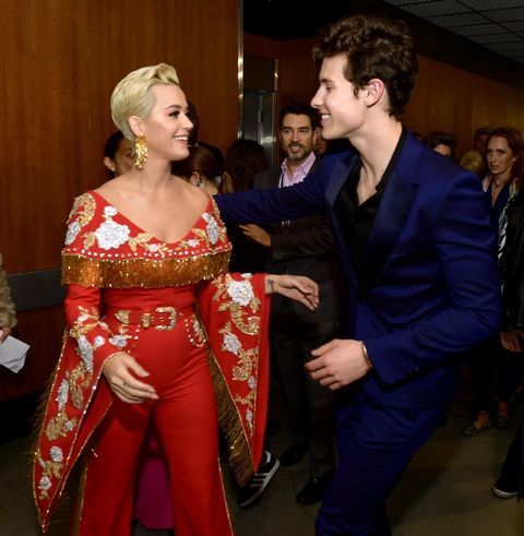 Katy Perry and Shawn Mendes
