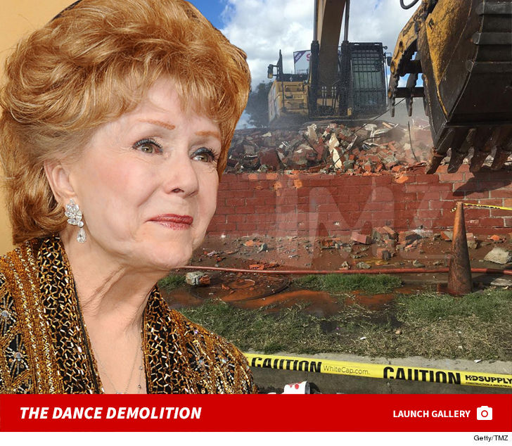 Debbie Reynolds Dance Studio Demolished ... Preservation Effort Fails
