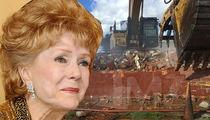 Debbie Reynolds' Former Dance Studio Torn Down
