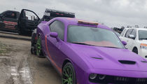 NFL's Terrance Williams Hit By Repo Man, Snatches WR's Hellcat