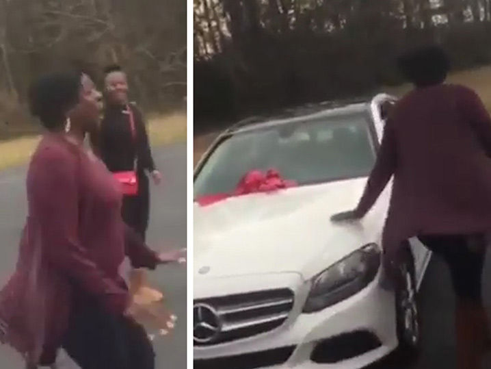 Colts' Darius Leonard's Mom Loses Her Mind Over New Car Gift!
