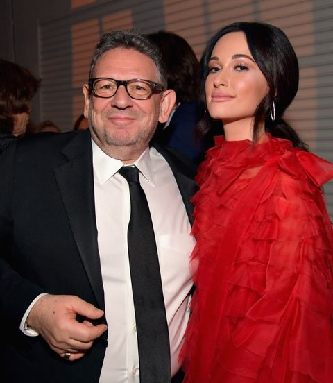 Kacey Musgraves and Lucian Grainge