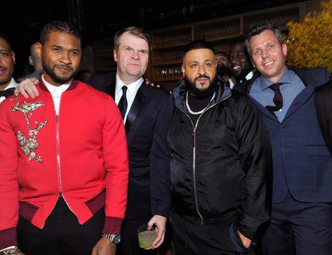 Usher and DJ Khaled
